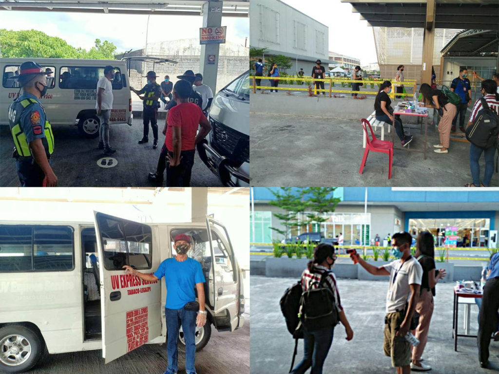 Legazpi Grand Terminal operation resumed