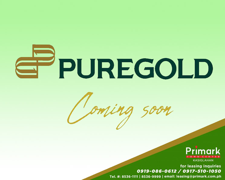 Puregold Coming Soon