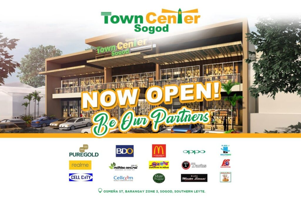 Soft Opening of Town Center Sogod (Southern Leyte)