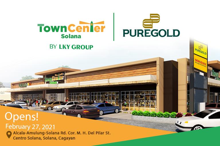 Ang panalong shopping experience hatid ng Puregold, nasa Town Center Solana, Cagayan na!